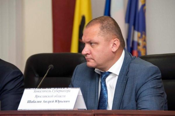 Состояние замгубернатора Ярославской области Андрея Шабалина оценивают как удовлетворительное