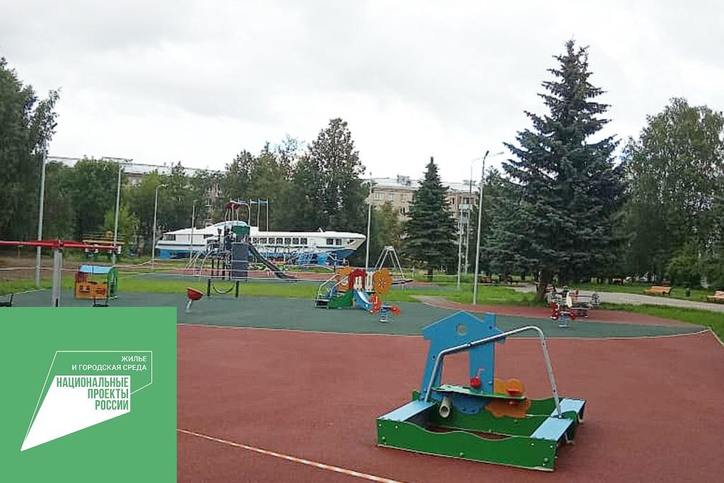 Более 60 дворов и парков в Ярославской области благоустроили в рамках нацпроекта