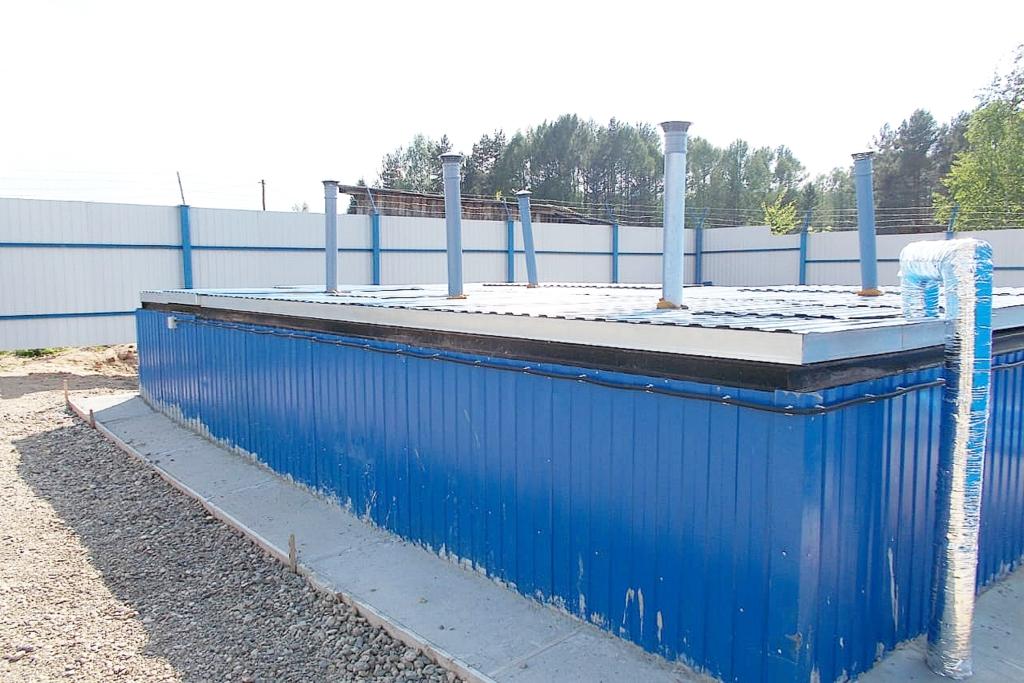 Очистные сооружения канализации построены в поселке Шестихино Некоузского района