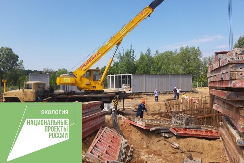 Заканчивается реконструкция очистных сооружений под Рыбинском