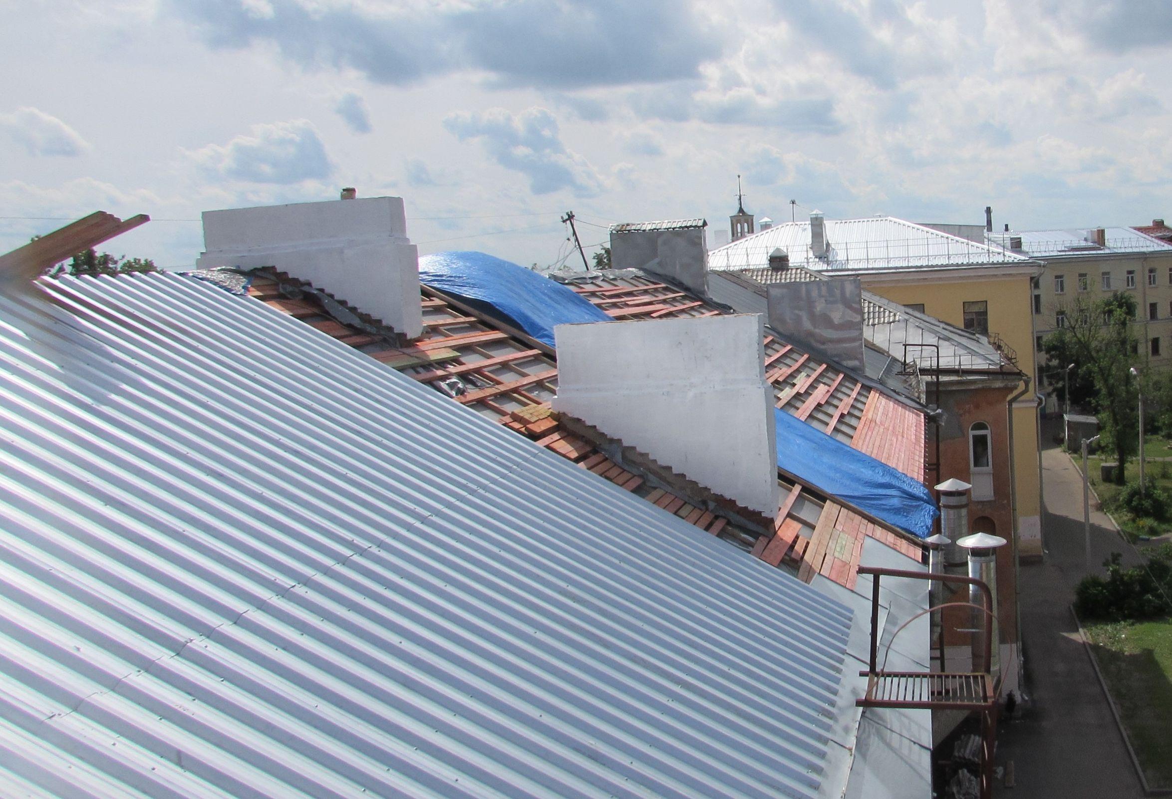 В Ярославской области завершили капремонт крыш 124 домов