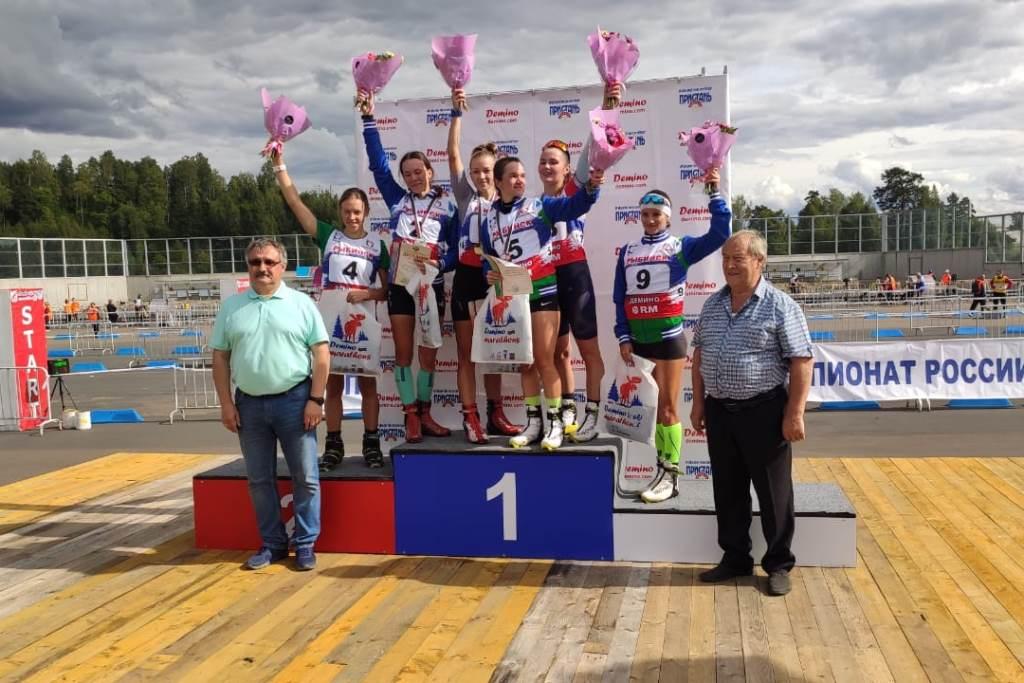 Чемпионат России и Всероссийские соревнования по летнему биатлону стартовали в «Демино»