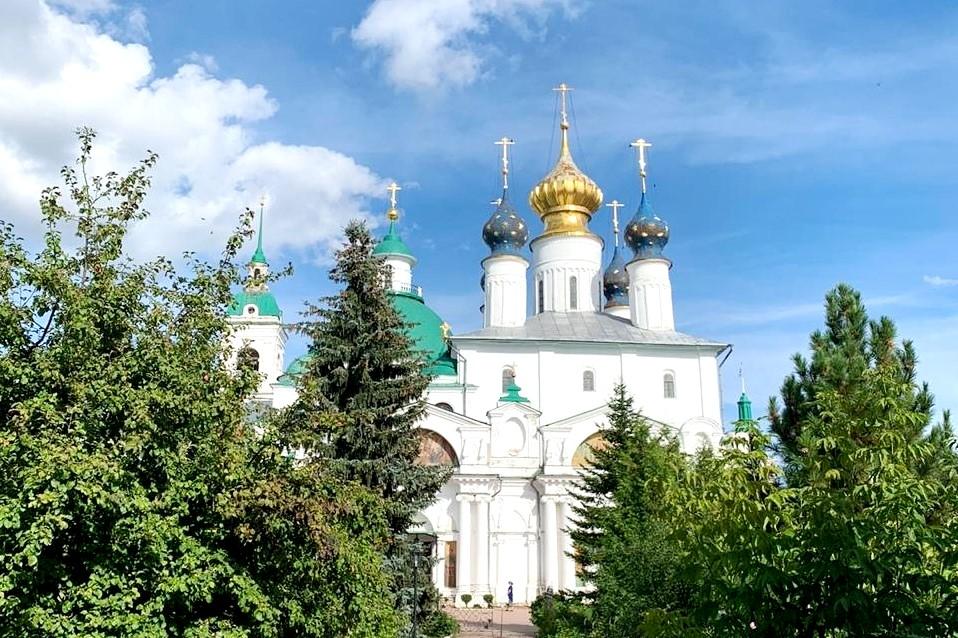 Будут проведены работы по сохранению фресок церкви ансамбля Спасо-Яковлевского монастыря в Ростове