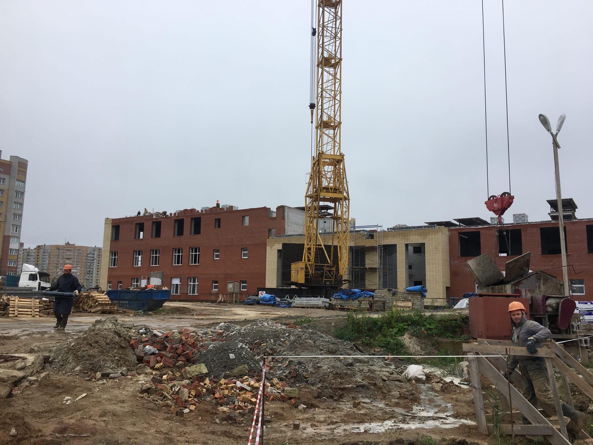 Новую школу в Ярославле планируют открыть к следующему учебному году