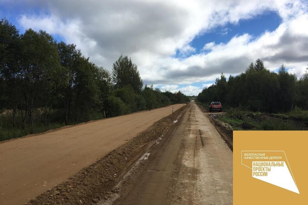 Ремонт дороги Толбухино – Уткино – Спас-Виталий будет завершен в октябре