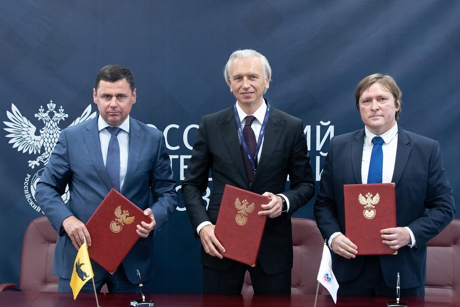 Дмитрий Миронов: в Ярославской области создадут футбольную Академию РФС