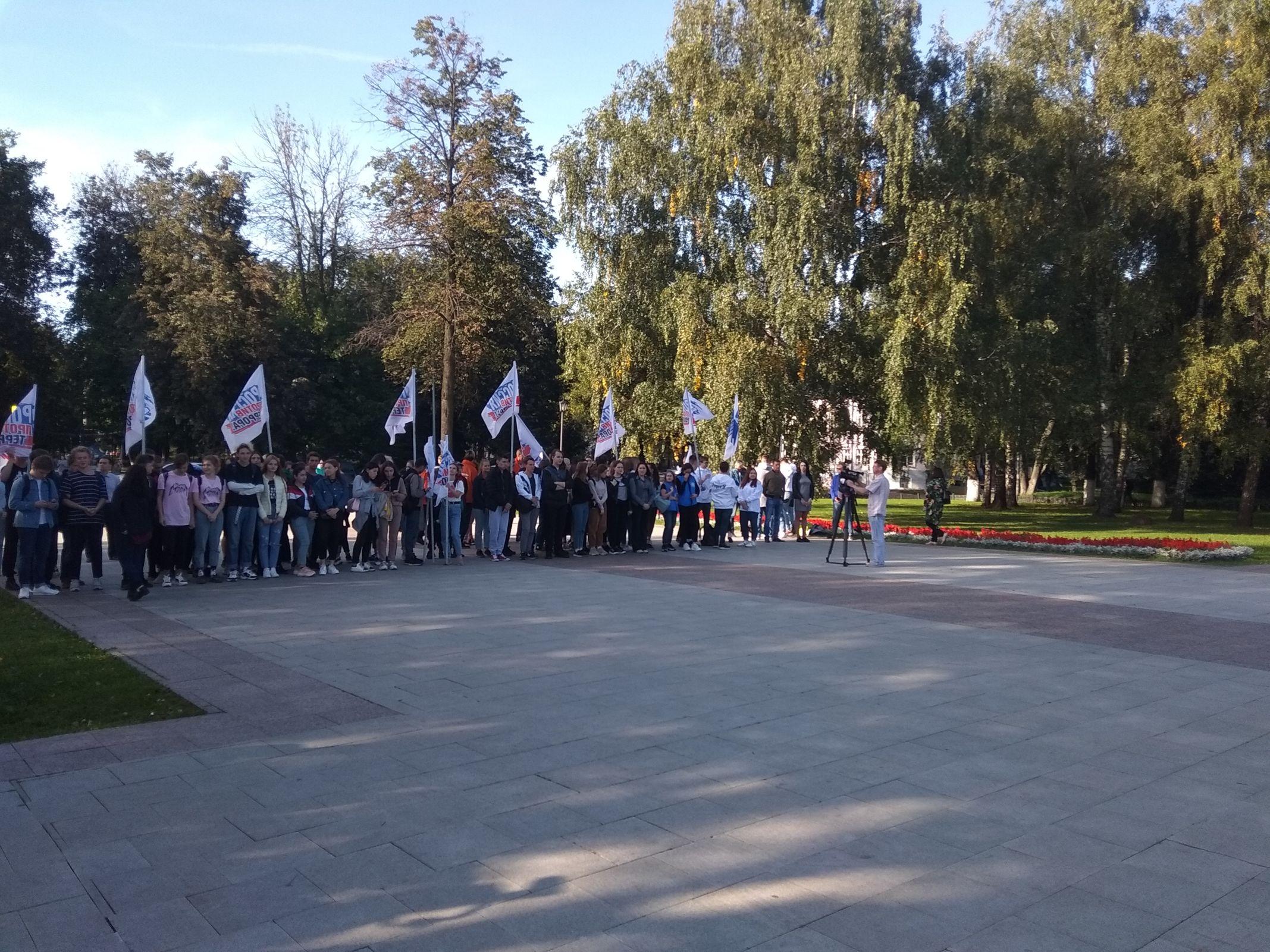 Памятные мероприятия, посвященные Дню солидарности в борьбе с терроризмом, прошли в Ярославской области