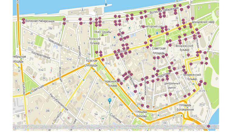 В День города центр Ярославля закроют для транспорта: схема