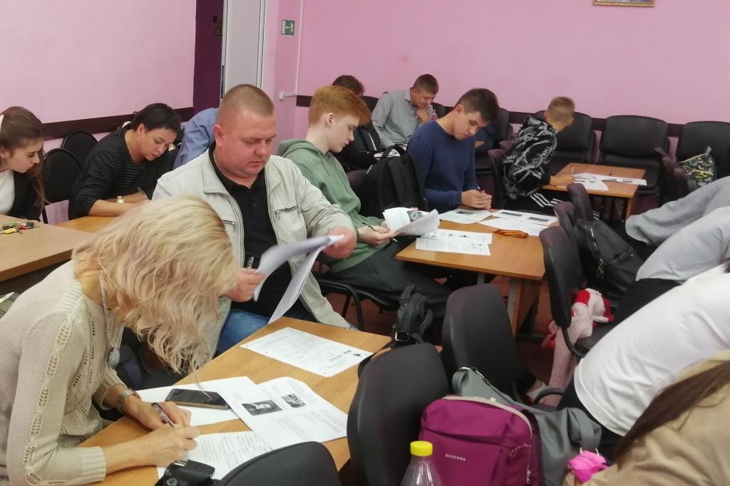Ярославские школьники и учителя написали «Диктант Победы»
