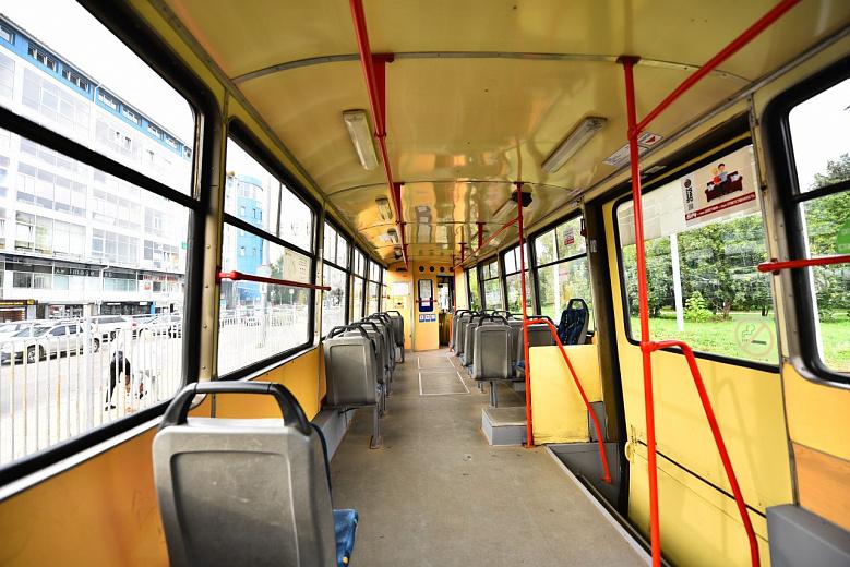 В Ярославле запустили экскурсионный трамвай