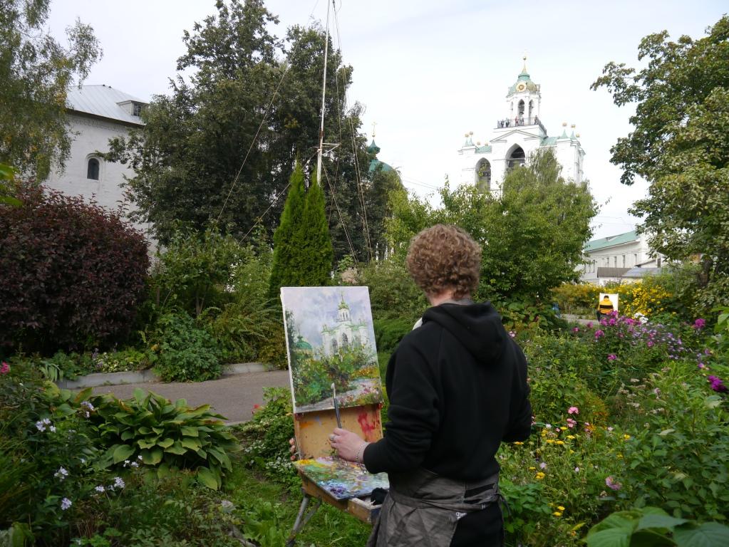 Профессионалы и любители нарисовали картины, посвященные Ярославскому музею-заповеднику