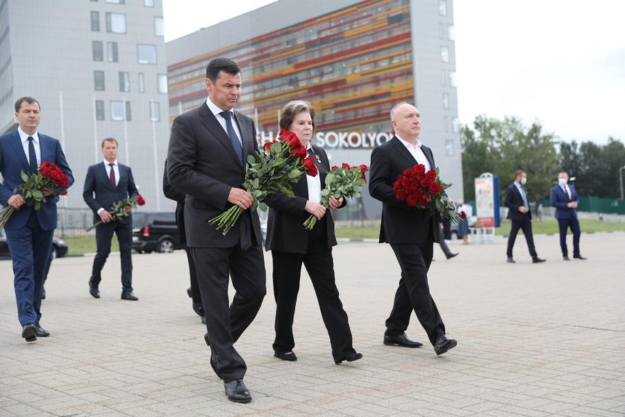 В годовщину гибели команды «Локомотив» в Ярославской области проходят памятные мероприятия – фоторепортаж