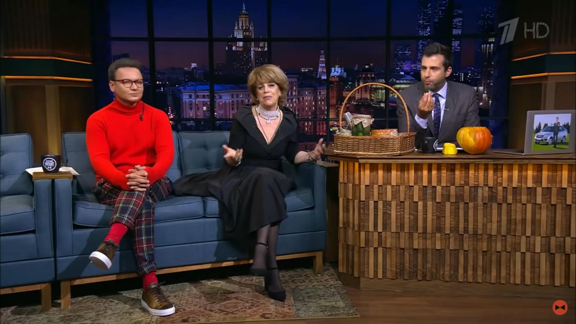 Казарновская и Олешко в гостях у Урганта рассказали о прелестях Вятского