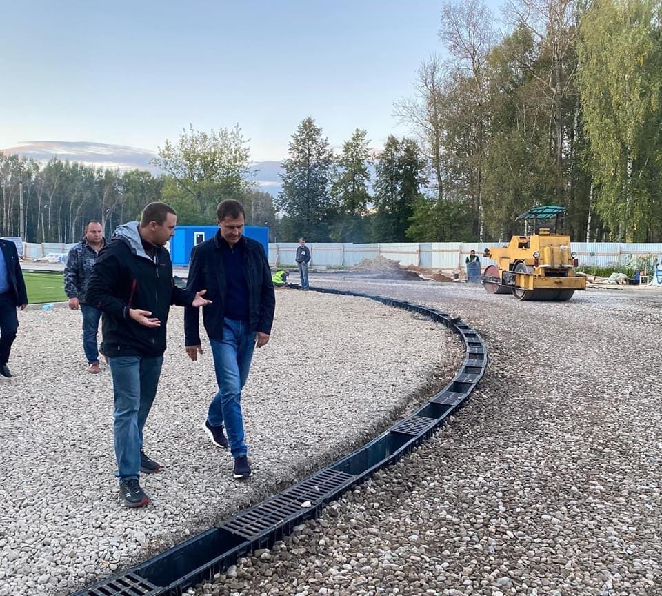 В Ярославле завершается строительство физкультурно-оздоровительного комплекса