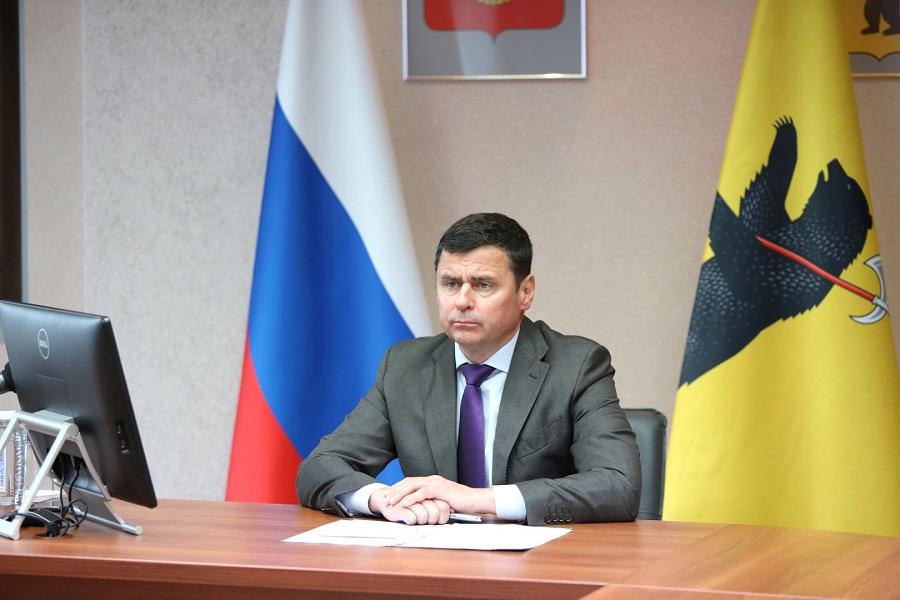 Дмитрий Миронов и председатель ЦИК России Элла Памфилова обсудили ход электронного голосования в регионе