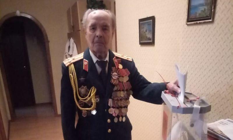 В Ярославской области 94-летний ветеран проголосовал на выборах
