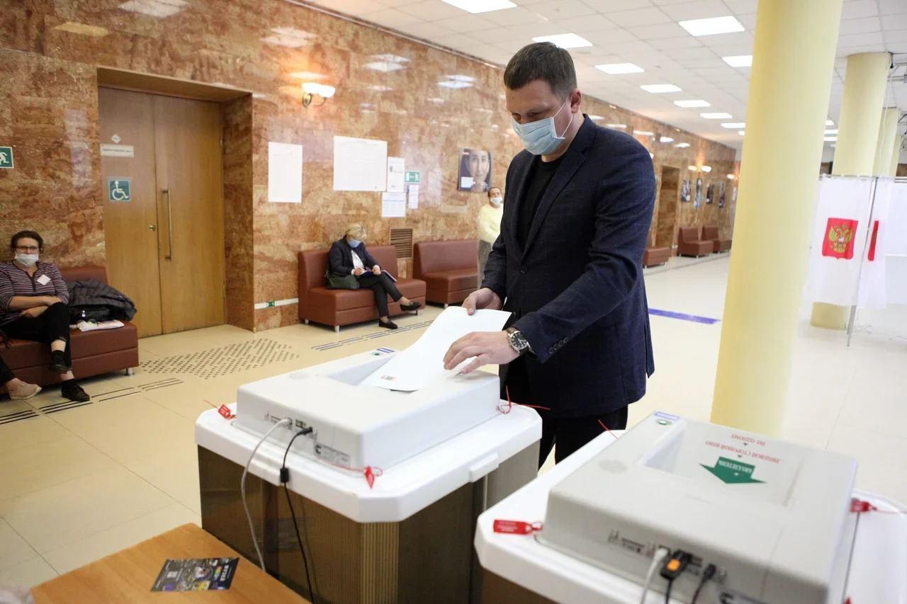 Сергей Соловьев отметил роль общественных наблюдателей в процессе голосования