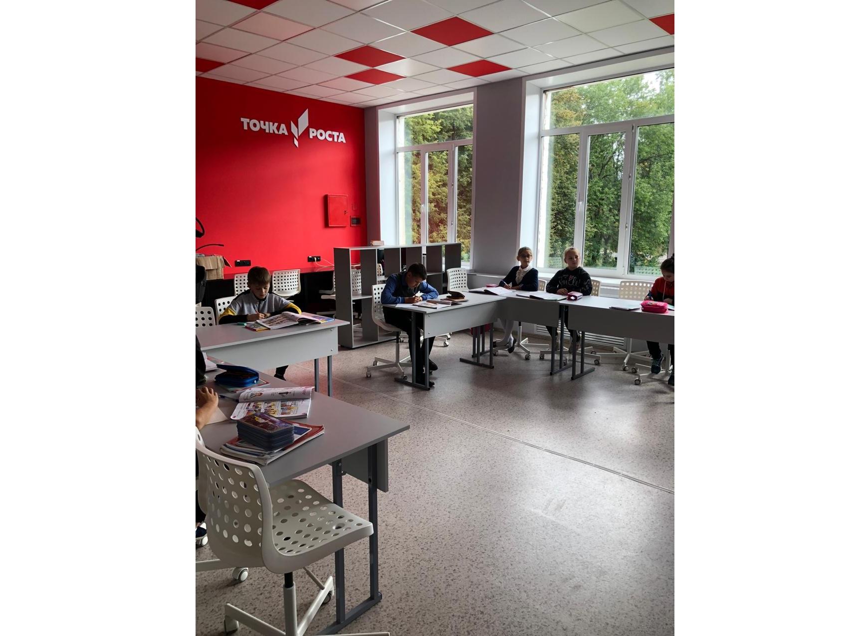 В Красноткацкой школе отремонтировали спортзал и помещения для образовательного центра «Точка роста»