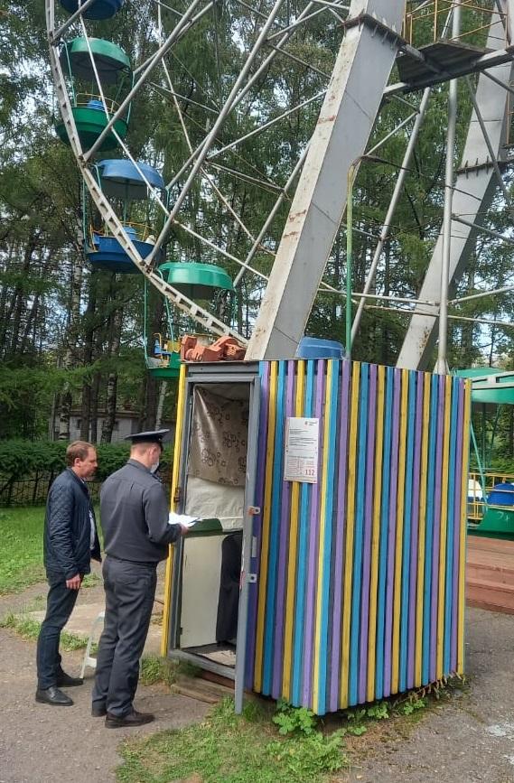 В День города региональная инспекция адмтехнадзора проверила ярославские аттракционы