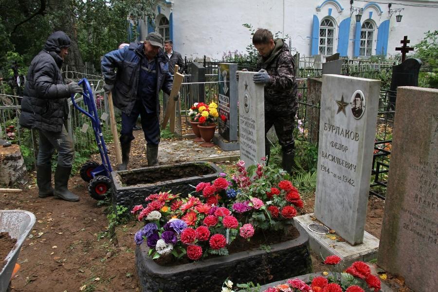 В Рыбинске 108 тысяч рублей выделили на благоустройство военных захоронений