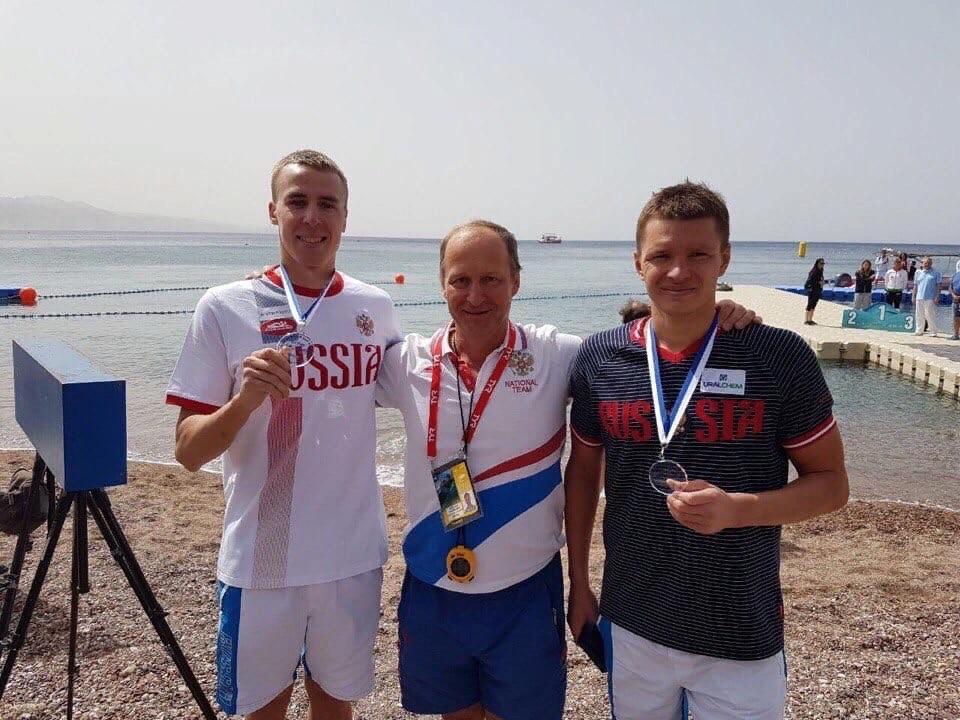 Ярославские пловцы заняли первое и второе места на чемпионате России