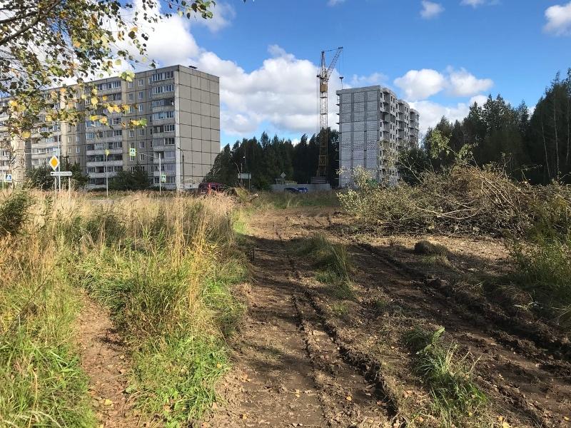 В Рыбинске начали строить дорогу на улице Волочаевской