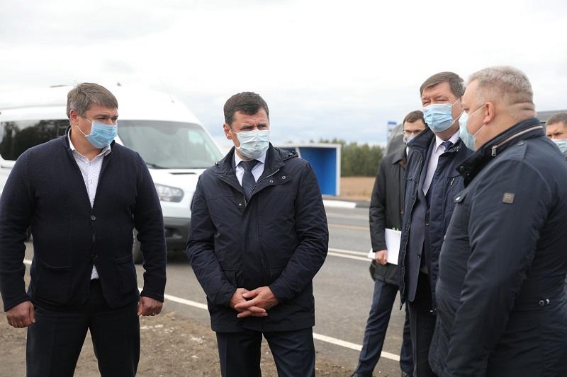 Дмитрий Миронов проверил ремонт дорог в Гаврилов-Ямском районе