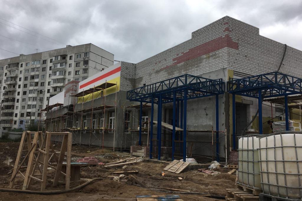 Готовы коробки зданий яслей-близнецов в Дзержинском районе Ярославля