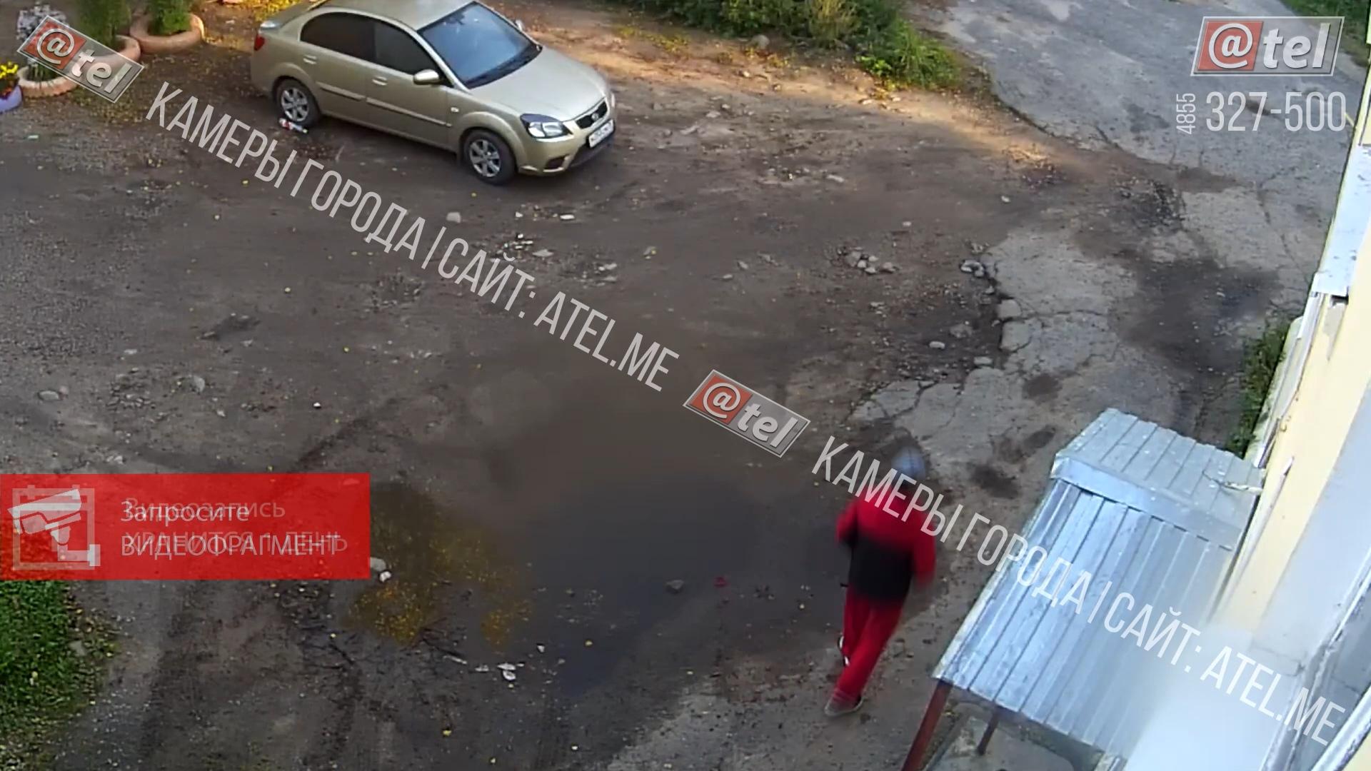 Долго стоял у опорного пункта полиции: камеры запечатлели путь подозреваемого в день убийства в Рыбинске