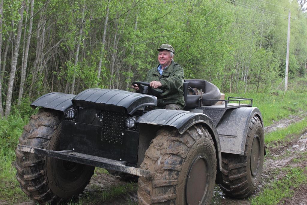 Почтальон на вездеходе Сергей Кондаков стал участником всероссийского проекта «Героям – быть!»