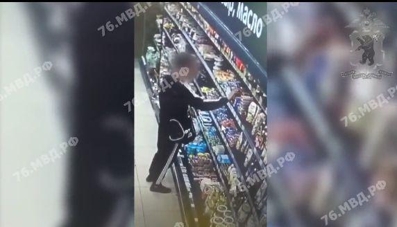Ярославец украл из магазина 45 пачек сливочного масла