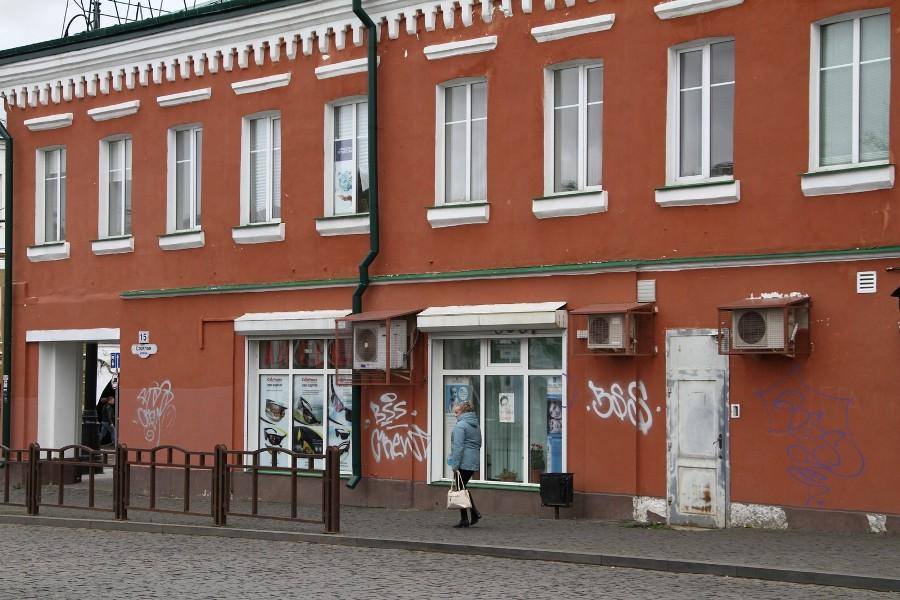 Исторический центр Рыбинска приведут в порядок после нашествия вандалов