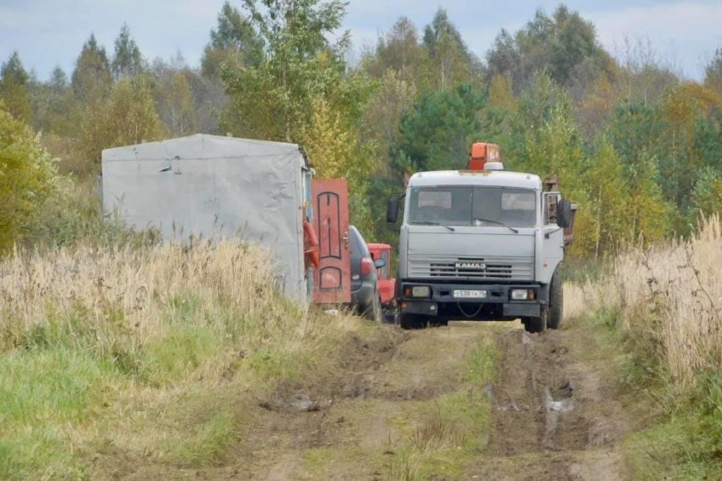Началось строительство очистных сооружений в поселке Тихменево Рыбинского района
