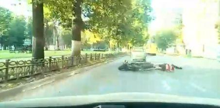 В Ярославле в ДТП попала мотоциклистка