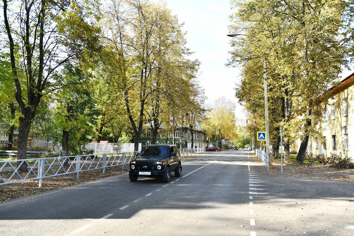 В Ярославле на Балтийской улице завершили ремонт дороги