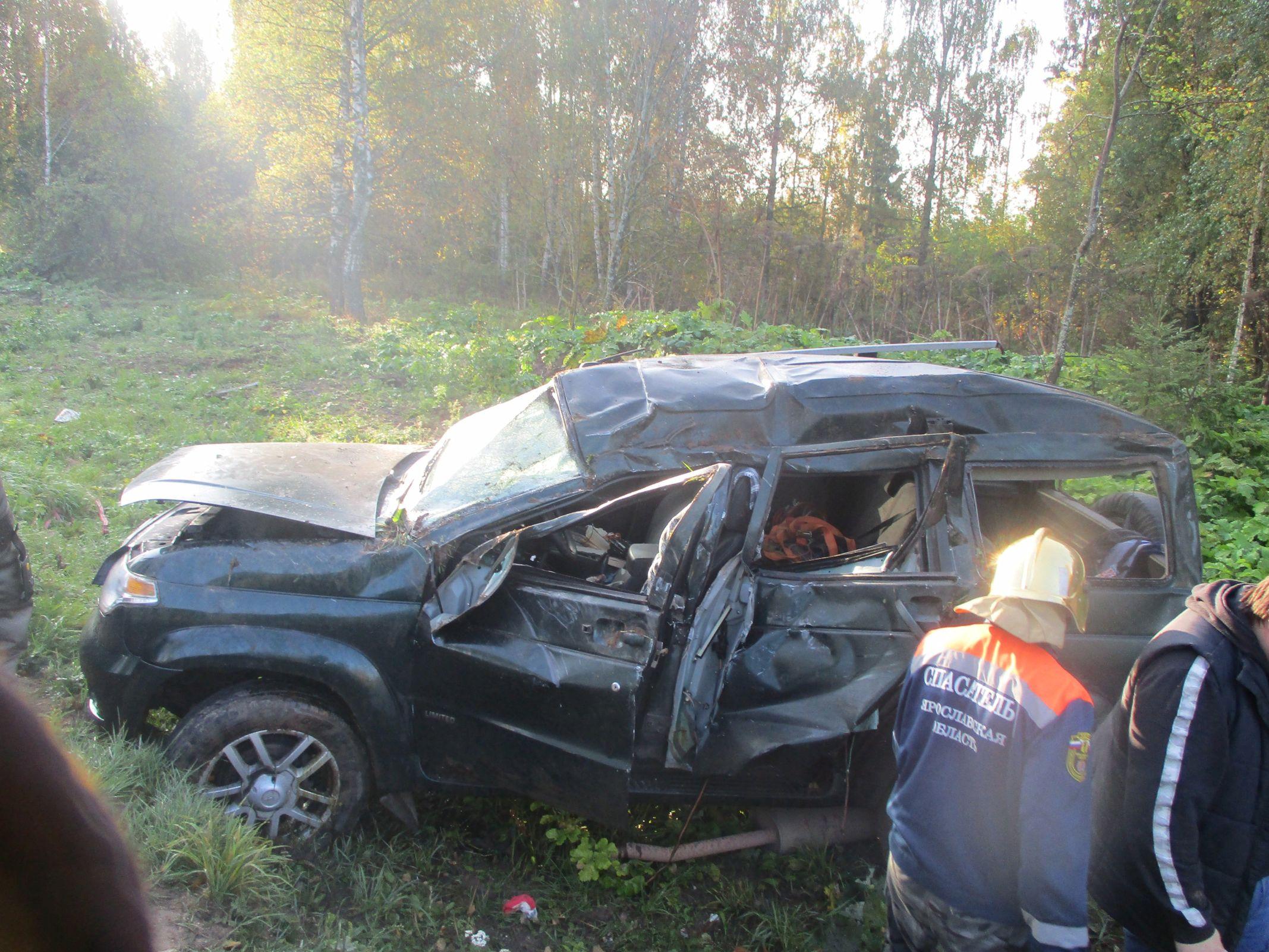 В Ярославской области в ДТП пострадал мужчина