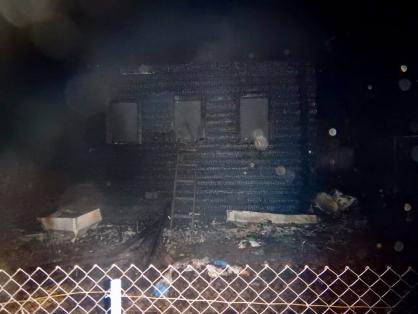 В Ярославской области при пожаре погибли мужчина и его мама