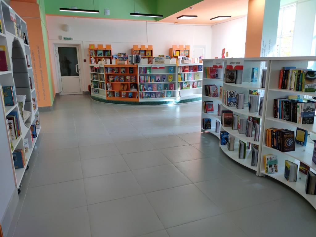 Первая в регионе детская модельная библиотека открылась в Угличе