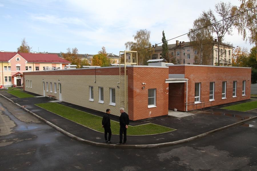 В Рыбинске завершается строительство двух ясельных корпусов