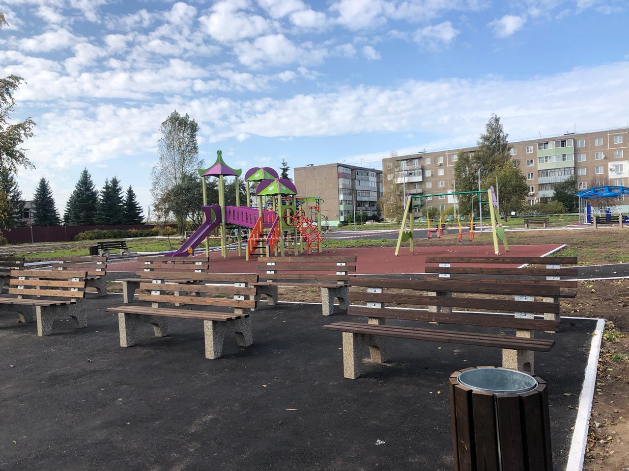 10 территорий благоустроили в Рыбинском районе по нацпроекту «Жилье и городская среда»