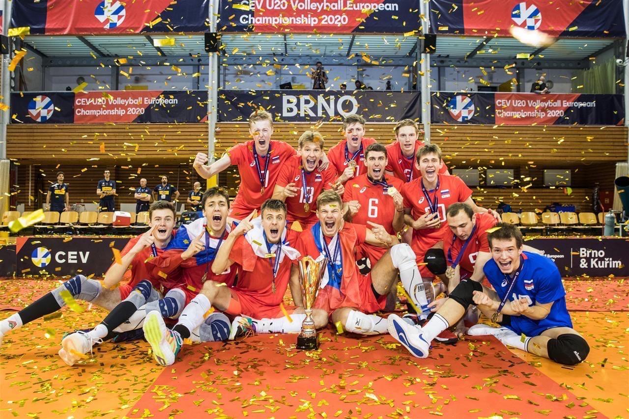 Ярославский волейболист стал победителем чемпионата Европы в составе российской сборной