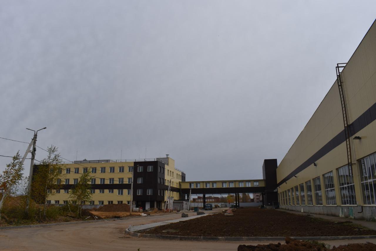 Третий производственный корпус в тутаевском промпарке «Мастер» будет сдан в начале 2021 года