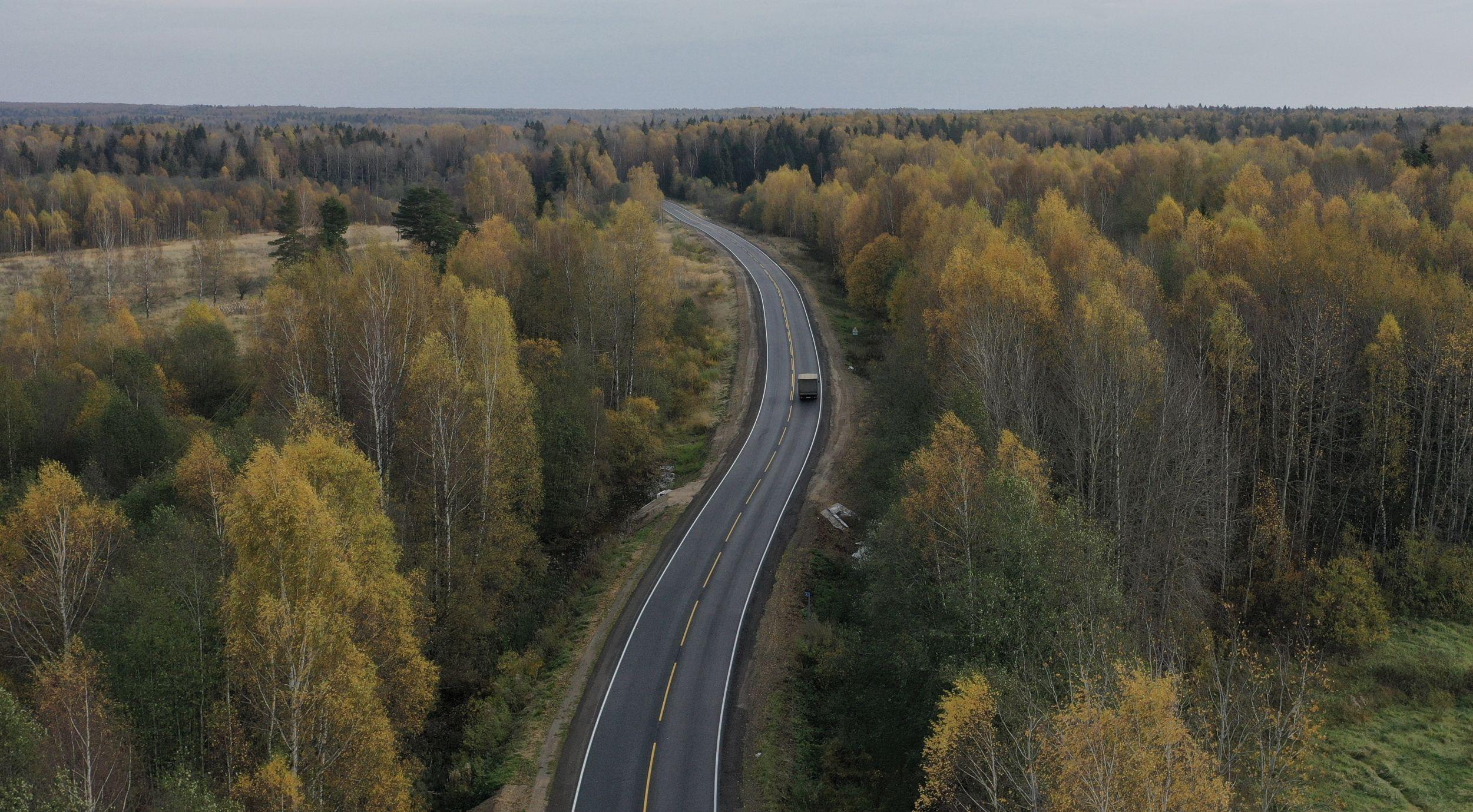 18 километров дороги Гаврилов-Ям – Пружинино отремонтировано благодаря нацпроекту