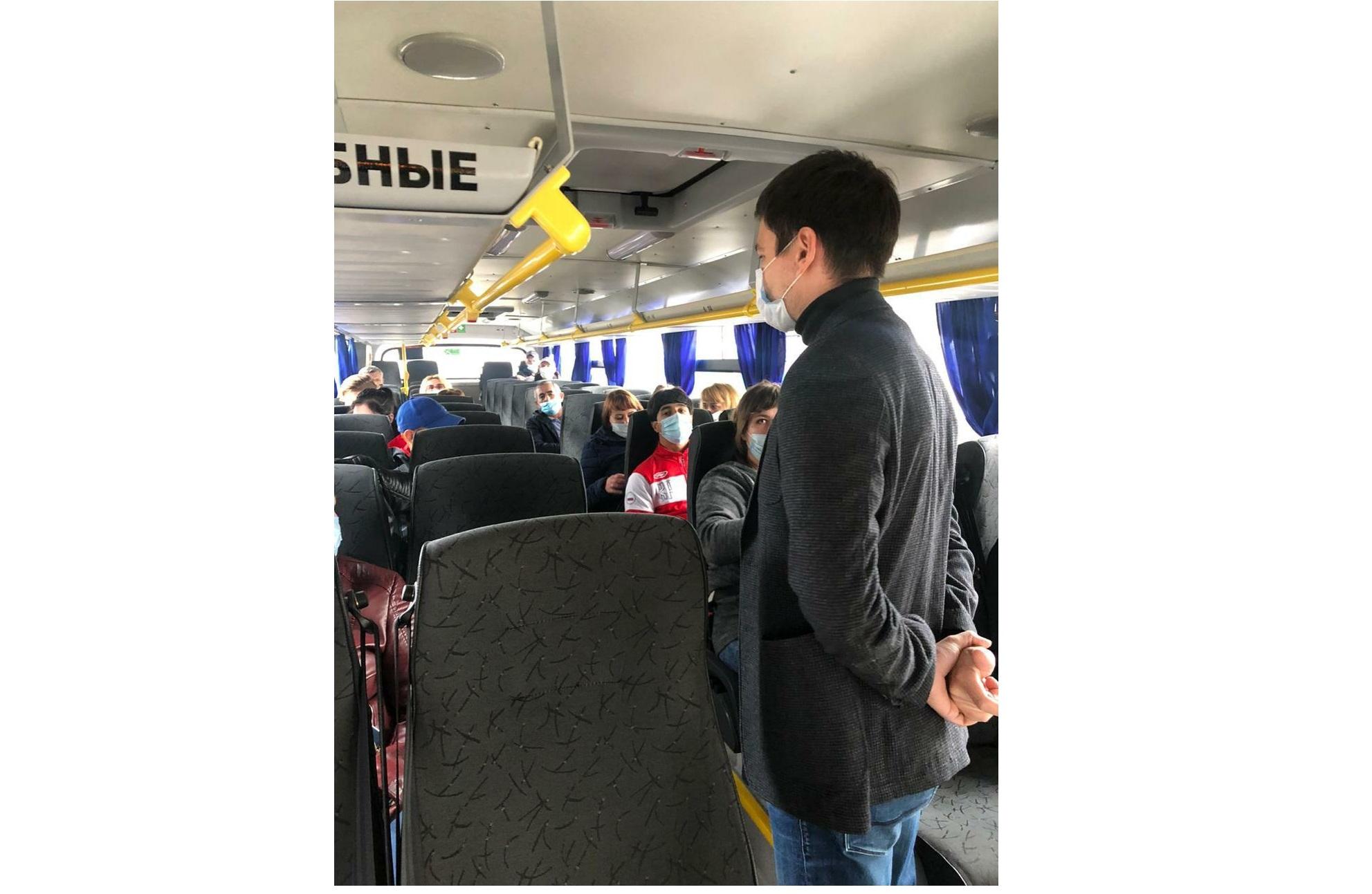 В Ярославской области проверяют соблюдение масочного режима в транспорте