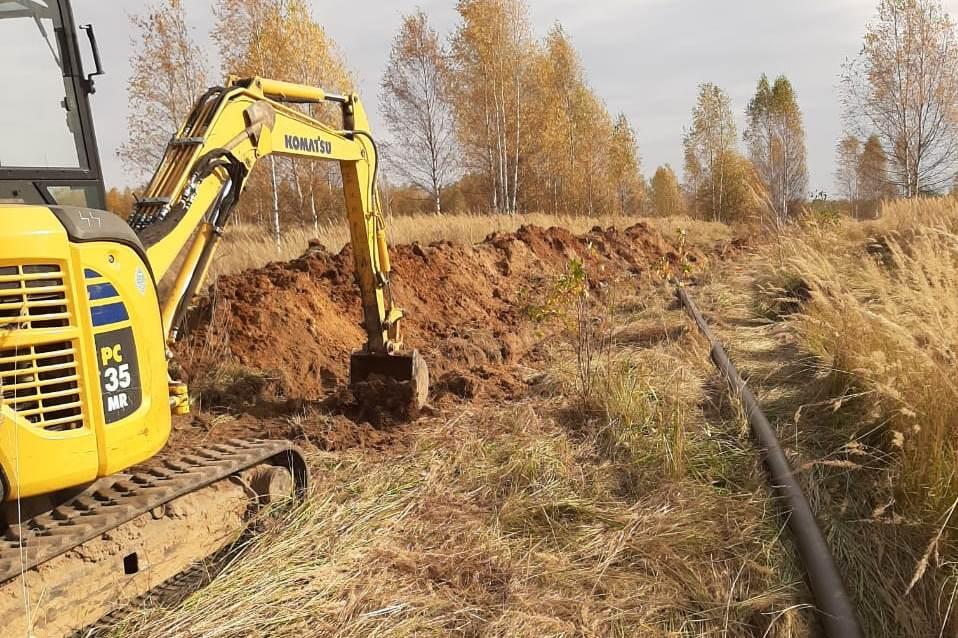 Началось строительство межпоселкового газопровода в Некрасовском районе