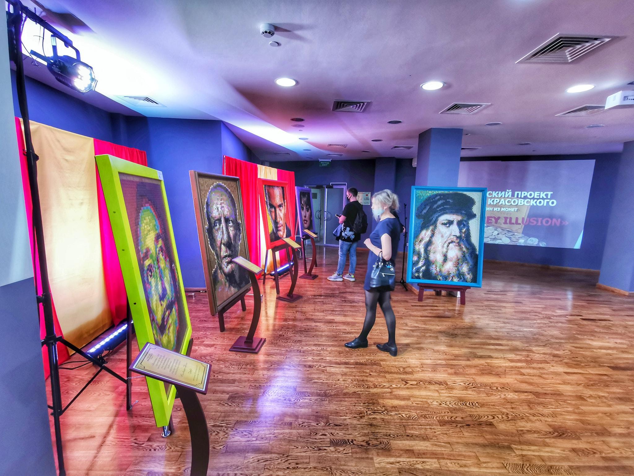 Уникальный выставочный проект «Интрига…продолжение…» открылся в Концертно-зрелищном центре Ярославля