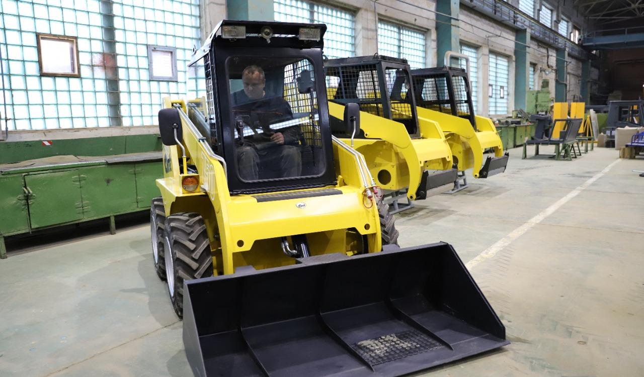Производство мини-погрузчиков начинается в Рыбинске