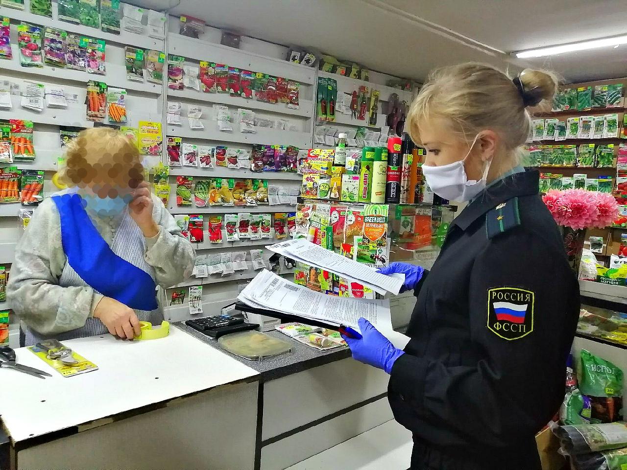 В Ярославле приставы арестовали кассу в магазине за долг в 200 тысяч рублей по аренде