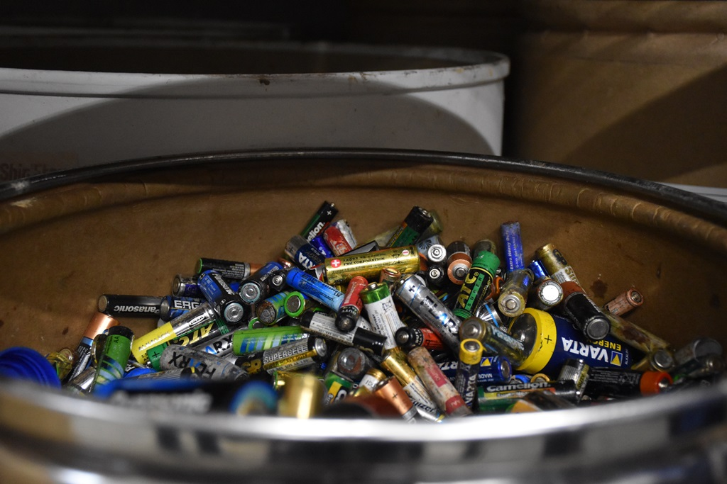 Более 5 тонн батареек утилизировали в Ярославской области с начала года