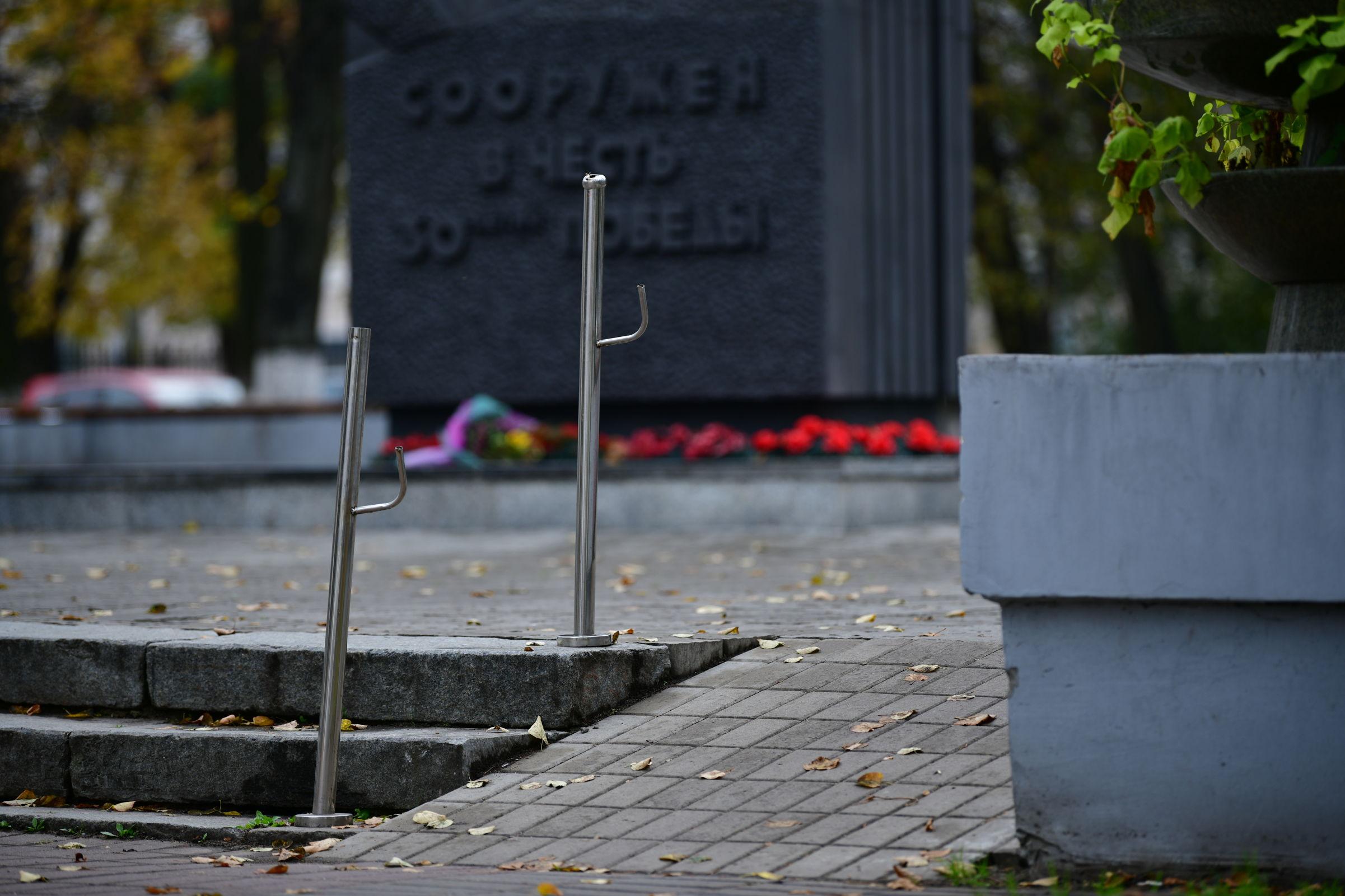 В Ярославле на улице Чайковского восстановят перила, которые сняли вандалы